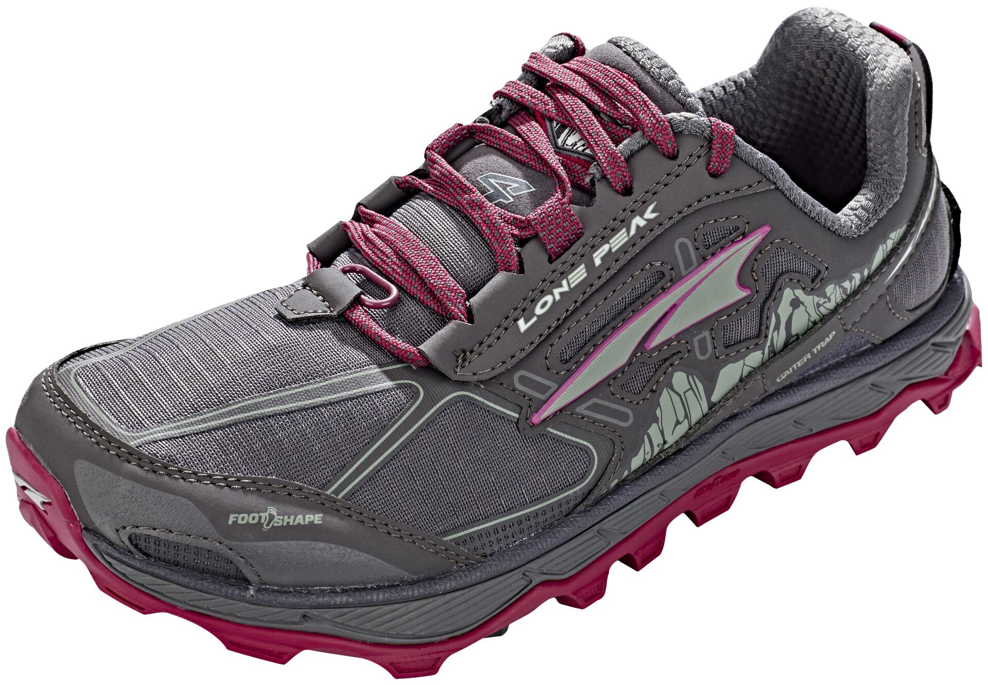 Running Psvzmuq Chaussures Femmeraspberry 4 Lone Campz Altra Peak Sur N8w0Ovmn